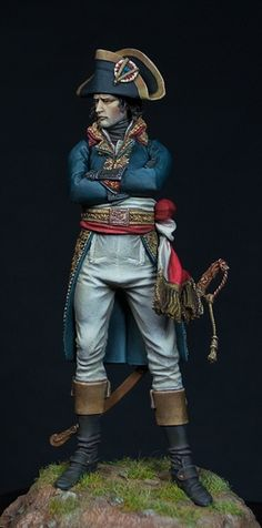 Alexandros Models - General Bonaparte, 1796-1797.Sculpture: Richard Galicek . Painting: In the Middle.
