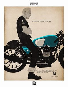 GOOD LIFE & GOOD TASTE: Aristocratic Motorcyclist