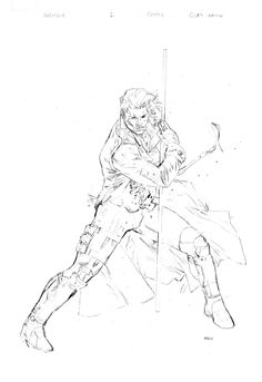 Check out this sketch of Gambit #1!