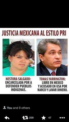 """RT @DeniseDresserG: Van fotos que ilustran la """"Justicia al estilo PRI"""". Protección para los amigos; cárcel para todos los demás. http://t.c…- http://www.pixable.com/share/627t5/?tracksrc=SHPNAND3&utm_medium=viral&utm_source=pinterest"""