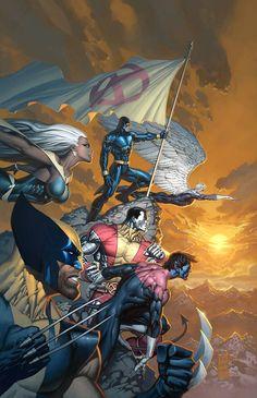 X-Men, por Marc Silvestri