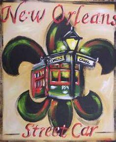 new orleans saints fleur de lis stencil