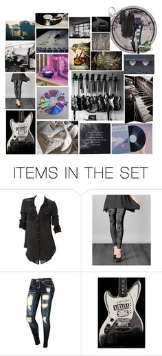 """It's The Music In My Soul"" by chibi-space-gal ❤ liked on Polyvore featuring art and plus size clothing"