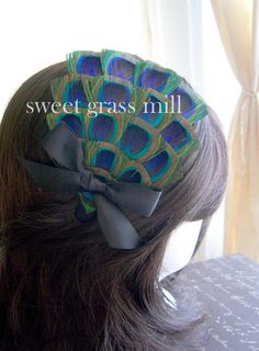 @carmen knowles, this fascinator reminds me of you!