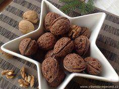 Plněné kakaové ořechy