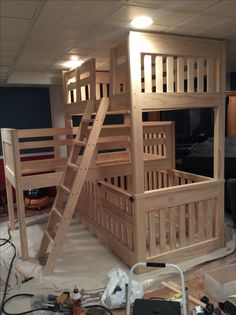 Baby Bunk Bed Cribs Baby Pinterest Bunk Bed Crib