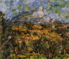 Mont Sainte-Victoire Seen from les Lauves - Paul Cézanne