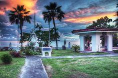 Santa Marian di Kamalen Park, Guam USA