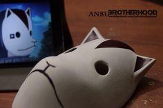 Itachi Uchiha's Sharingan ready ANBU mask by ANBUbrotherhoodSHOP
