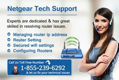 We provide best netgear internet wifi router installation IT support services in USA- 1-855-239-6292