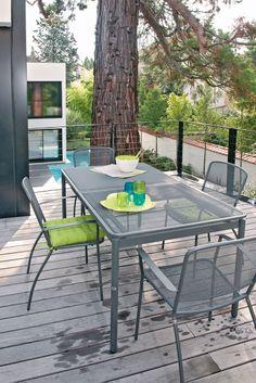 Table Bistro : L.57cm Fuchsia | Mobilier, Les couleurs et Couleurs