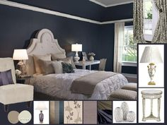 Most popular bedroom paint color blue