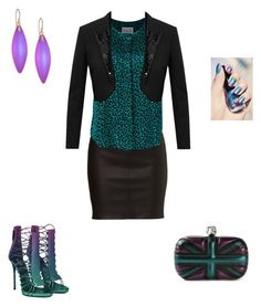"""""""Untitled #118"""" by dulbus on Polyvore featuring Sea, New York, Yves Saint Laurent, Alexander McQueen and Alexis Bittar"""