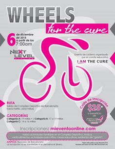 "https://www.mieventoonline.com/index.php/events/event-catagories/ciclismo-recreativo/event/13/Wheels-for-the-Cure  Inscribete online para ""Wheels for the Cure"" a beneficio de Susan G Komen PR"
