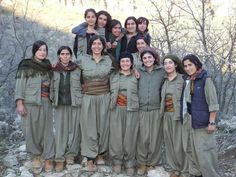Brave Kurdish girls