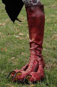 Harpy feet shoes