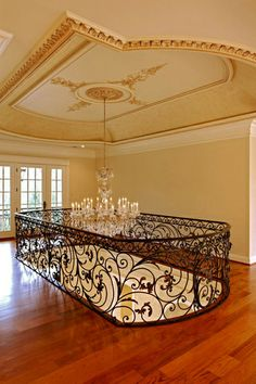 James McDonald Architects, From 5,000 Sq Ft to 7,500, Belview, Stairs Chandelier
