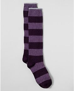 Metallic Stripe Boot Socks | Eddie Bauer