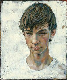 Daniel Barkley. Vincent, 2007, acrylic on cancas, 30x36cm