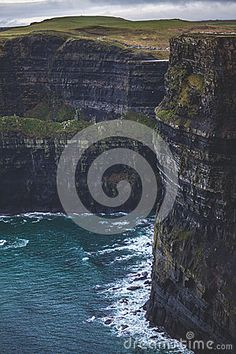 Cliffs height in West Ireland