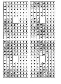 """Numbersearches- Blank:  Click below where it says """"by debbiebryant4"""" This should take you to my Flickr page where you can save and/or copy the image. Enjoy!"""