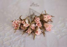Мастер-класс веночек из бутонов роз (фоамиран) | Страна Мастеров
