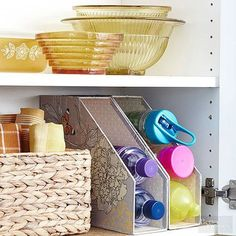 Affordable Kitchen Storage Ideas http://www.bhg.com/kitchen/storage/organization/affordable-kitchen-storage-ideas/