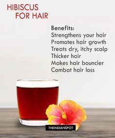 BENEFITS AND USES OF HIBISCUS FOR HAIR