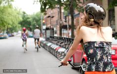 Montréal's friendly bike tours can take you on a tailor-made trip, whether you're looking for historical insights, excellent food or a work-out challenge. Little Italy, Velo Quebec, Canadian Travel, Canada, Outdoor Activities, Stuff To Do, Strapless Dress, Challenges, Tours