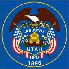 Utah State Flag  Governor Gary R. Herbert