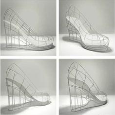 3D-Printed Shoe Sculptures Commemorate Lost Loves