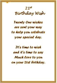 Image result for 21st birthday poems for daughter
