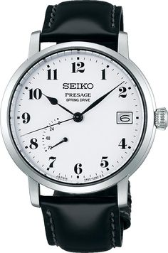 Seiko Presage Watch Mens- Watch Available to buy online. Simple Watches, Watches For Men, Seiko Presage, Hand Watch, Latest Jewellery, Seiko Watches, Japanese Design, Metal Bracelets, Automatic Watch