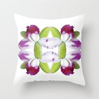 Throw Pillows by PARROTHORSE   Society6