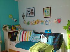 Colourful boys room