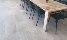 Chambon Travertine Tiles, Paving & Flooring by Eco Outdoor Driveway Paving, Brick Paving, Paving Stones, Travertine Pavers, Concrete Pavers, Stone Tiles, Step Treads, Outdoor Range, Modern Courtyard