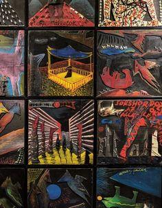 El Kazovszkij életmű-kiállítása a Magyar Nemzeti Galériában A TÚLÉLŐ ÁRNYÉKA - Elszáll-e a lélek? Artmagazin 2015/9. 44-50 o. Spiderman, Comic Books, Superhero, Comics, Fictional Characters, Art, Spider Man, Art Background, Kunst