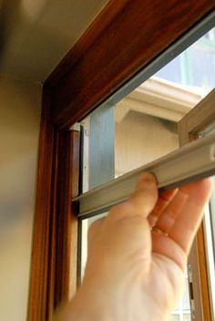 Centor screen for french doors bay house pinterest for Windows with built in retractable screens