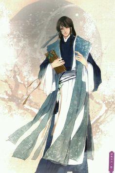 Tranh minh họa Tam Sinh Tam Thế – Chẩm Thượng Thư – Y Xuy Ngũ Nguyệt