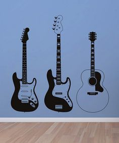 If A Boy Guitar Decals For The Walls Perhaps