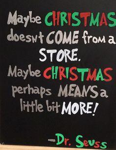 Christmas chalkboard decor by CortesClan on Etsy