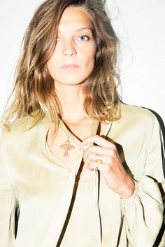 We interviewed Daria Werbowy about living in the jungle, silent retreats & more.