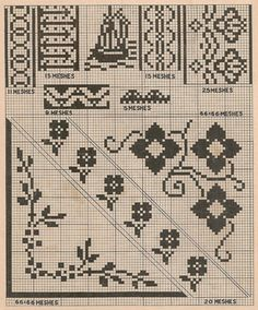 Free Cross Stitch Samplers   ... coming up next, more vintage color plates for cross stitch embroidery
