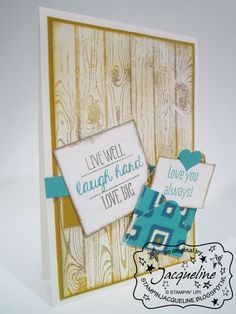 Stampin' Up! with Oh my Goodies by Stampin Jacqueline: Herenkaart