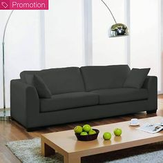Canapé convertible microfibre Menphis Canapé 2 Places Convertible, Canapé Angle Convertible, Sofa, Couch, Furniture, Home Decor, 3 Seater Sofa, Stream Bed, Home Decoration