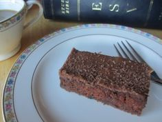 Chocolate Zucchini Sheet Cake - so yummy! I get asked for this recipe every time I make it!