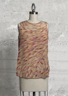 A beautiful and unique sleeveless top that is perfect for your collection! Shop artistic sleeveless top's created by designers all around the world. High Low, Print Patterns, Dress Up, Earth, Blazer, The Originals, Studio, Greece, Closure
