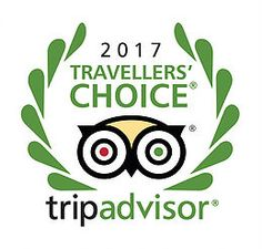 2017 Travellers Choice Award winner