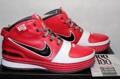sale retailer 2fafa 83483 Nike LeBron 6