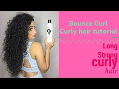 BOUNCE CURL Wash and go for curly hair - YouTube